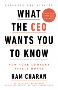 What the CEO Wants You to Know [Charan Ram]