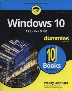 Windows 10 All-In-One For Dummies [Leonhard Woody]