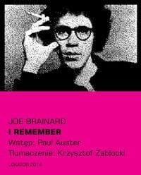 I remember [Brainard Joe]