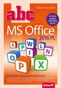 ABC MS Office 2016 PL [Jaronicki Adam]